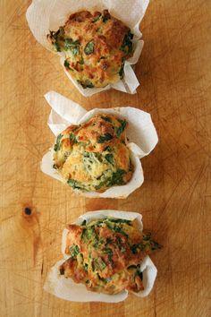 muffins cheddar epinard 1