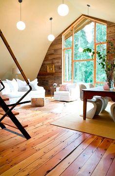 Barn Conversion by SHED Architecture.. Big windows. Dream dream dream.