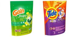 Buy (4) Tide Pods or Gain Flings 12-16 ct, $3.94 sale price  Total $15.76  Use $2/$15 Laundry Care CVS coupon (printing for select shoppers)  Stack  (4) $3.00/1 – Tide Pods, Gain Flings, Downy Unstopables, Downy Fresh Protect, Gain Fireworks, Bounce Bursts or Dreft Blissfuls 19.5 oz or larger (4/2 P&G insert)  Final Price: $1.76 or just $0.44 each!