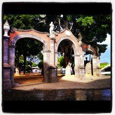 Santa Cruz de Tenerife. Detalle Plaza de España.