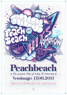 The Greatest Hits of today & tomorrow - Exhibition by PEACHBEACH , via Behance