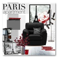 """Paris Apartment"" by beebeely-look ❤ liked on Polyvore featuring interior, interiors, interior design, home, home decor, interior decorating, Universal Lighting and Decor, Renwil, Dot & Bo and Cire Trudon"