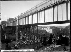El viaducto sobre la Calle Segovia, entre 1860 y 1886. J. Laurent (1816-1886). Colección Ruiz Vernacci. Fototeca del Patrimonio Histórico. Ministerio de Cultura.