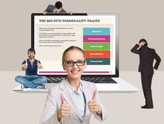 Example - The Big Five Personality Traits - Storyline Templates Big Five Personality Traits, Templates, Stencils, Vorlage, Models