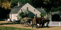 Old Sturbridge Village in southern Massachusetts to discover a living history museum!