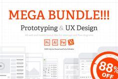 [MEGA BUNDLE] All Web & Mobile Tiles  More at PSDShare  http://psdshare.com/mega-bundle-all-web-mobile-tiles/    #Mockup #Photoshop #Website