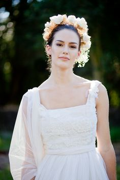 The Madelyn Dress from The Midsummer Bride Collection by Amy-Jo Tatum/photo by Dominic Colacchio Photography