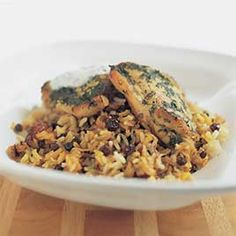 """<p>Chicken biryani is a complicated (and often greasy) """"gourmet"""" Indian dish. Chicken and rice is a simple, but unremarkable, American one-pot meal. Could we find a happy medium?</p>"""