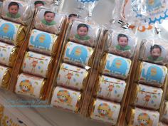 Safari First Birthday Hershey Nuggets Party Favors