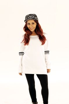e8241f22a53 Long Sleeve Pullover Top – The Snooki Shop. pleasantly surprised by snookis  clothing line  )