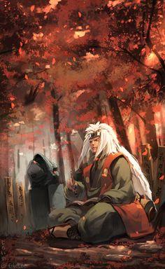 """[Jiraiya - Naruto] """"Aún así, creo que llegará el día en que todas las personas puedan entenderse entre si"""". JIRAIYA"""