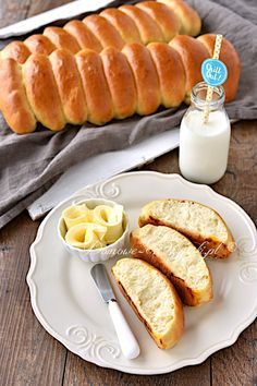 Dough Recipe, Hot Dog Buns, Food Inspiration, Recipies, Food And Drink, Cooking Recipes, Sweets, Bread, Snacks