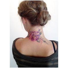 Amanda Wachob tattoo. #watercolor #tattoo