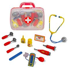 for DAWSON Little Pretender Medical Doctor Kit for Kids - Pretend & ... https://smile.amazon.com/dp/B01LR2KUJU/ref=cm_sw_r_pi_dp_x_OWVpybHJ46Y0Z