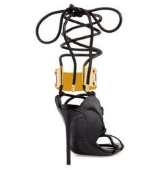 Draya Michele Wearing Anya Liesnik Gold Dress