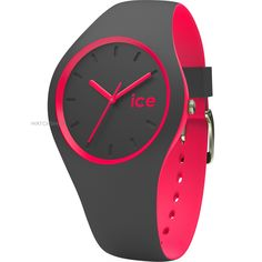 Unisex Ice-Watch Duo Anthracite-Pink Watch DUO.APK.U.S.16