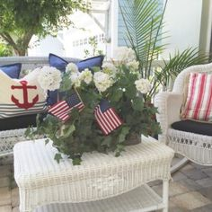 July on the Front Porch