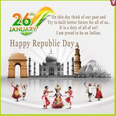 Happy #republican  #Republic day Wishes Message Picture #india