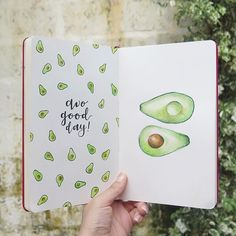 Oh my gosh avocados are my favourite food in the world this is by - Zeichnen - Bullet Journal 2020, Bullet Journal Notebook, Bullet Journal Aesthetic, Bullet Journal Junkies, Bullet Journal Ideas Pages, Bullet Journal Spread, Bullet Journal Inspo, Bullet Journal Layout, Book Journal