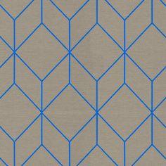 Maharam | Bright Cube by Scholten & Baijings 466329–003 Aqua 40% Cotton, 33% Polyester, 27% Nylon 100,000 double rubs