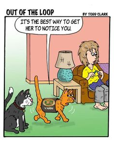 Keeping You In Stitches: Knitting and Crochet Humor