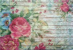Rice Paper for Decoupage Decopatch Scrapbooking Sheet Craft Vintage Garden 2