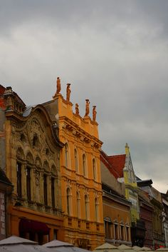 Brasov by Eva Slusar on Brasov Romania, Big Ben, Abandoned, Blues, Castle, Louvre, Mansions, City, Travel