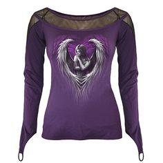 Angel Heart longsleeve purple - Spira