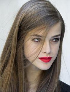 Long Hair Style for Fine Hair