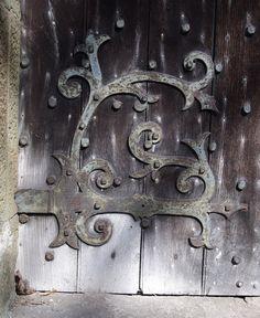 church door by Christ Church Welshpool, via Flickr Next Door, Wales, Door Handles, Christ, Doors, Inspiration, Beautiful, Door Knobs, Biblical Inspiration