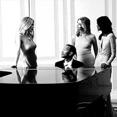 Just Karlie Kloss from a sneak peek of Loreal Paris Special Project with Doutzen, John Legend, and Liya Kebede