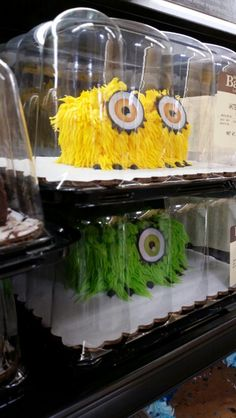 halloween critter cakes