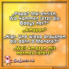Der Liebe Hermes Versand...