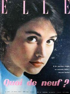 Pascale Audret - Elle France Magazine (26 August 1957)