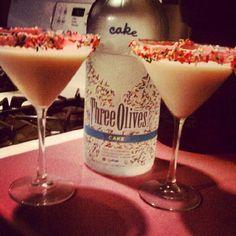 cake martinis!