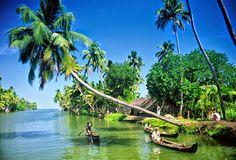Explore the list of Kerala #Backwaters to enjoy #houseboat experience in Kerala. http://www.sreestours.com/backwaters-in-kerala