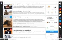 Redesign Concept Introducing the new UX and UI for Google News platform George Kvasnikov  ·10/2014