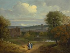 View of Ipswich from Christchurch Park c.1746-9  Thomas Gainsborough
