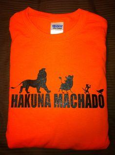 Hakuna Machado T-Shirt...Manny Machado - Baltimore Orioles Size XLarge. $15.00, via Etsy.