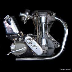 NO 8: CLASSIC NORTON INTERNATIONAL MOTORCYCLE ENGINE by Gordon Calder, via Flickr