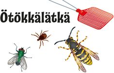 Ötökkälätkä, Koronalätkä, Kesäkärpäslätkä ja Kärpäslätkäjumppa Insects, Crafts For Kids, Bee, Punk, School, Space, Crafts For Children, Floor Space, Honey Bees