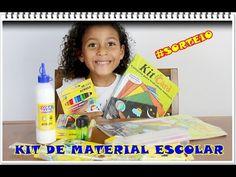 #PRÊMIOS -  kit de Material Escolar