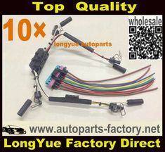 longyue factory sale 97-03 Powerstroke 7.3L Valve cover Gasket with injector glow plug harness