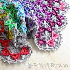 Prism Blanket: crochet pattern for purchase