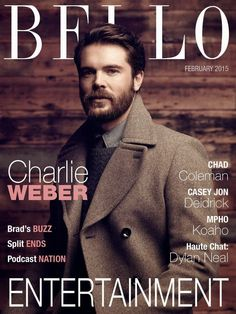 Charlie Weber para BELLO Magazine