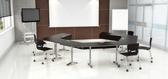 Create a unique meeting space with Nevins Slide Training Tables