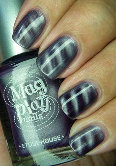 The latest craze: magnetic nail polish Mani Pedi, Manicure And Pedicure, Pedicures, Magnetic Nail Polish, Mug Shots, You Nailed It, Magnets, Polish Nails, Nail Art