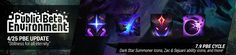 cool 4/25 PBE Update: Dark Star Summoner Icons, Zac & Sejuani ability icons, and more!