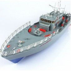 RC boat remote radio control boat r/c racing RC speed boat guided missile destroyer(HT2877)