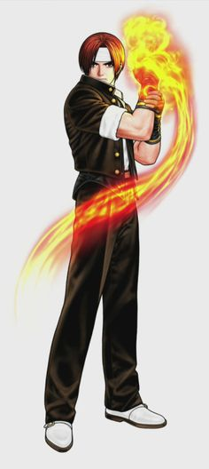 Kyo Kusanagi Official Art King of Fighters Shinkiro